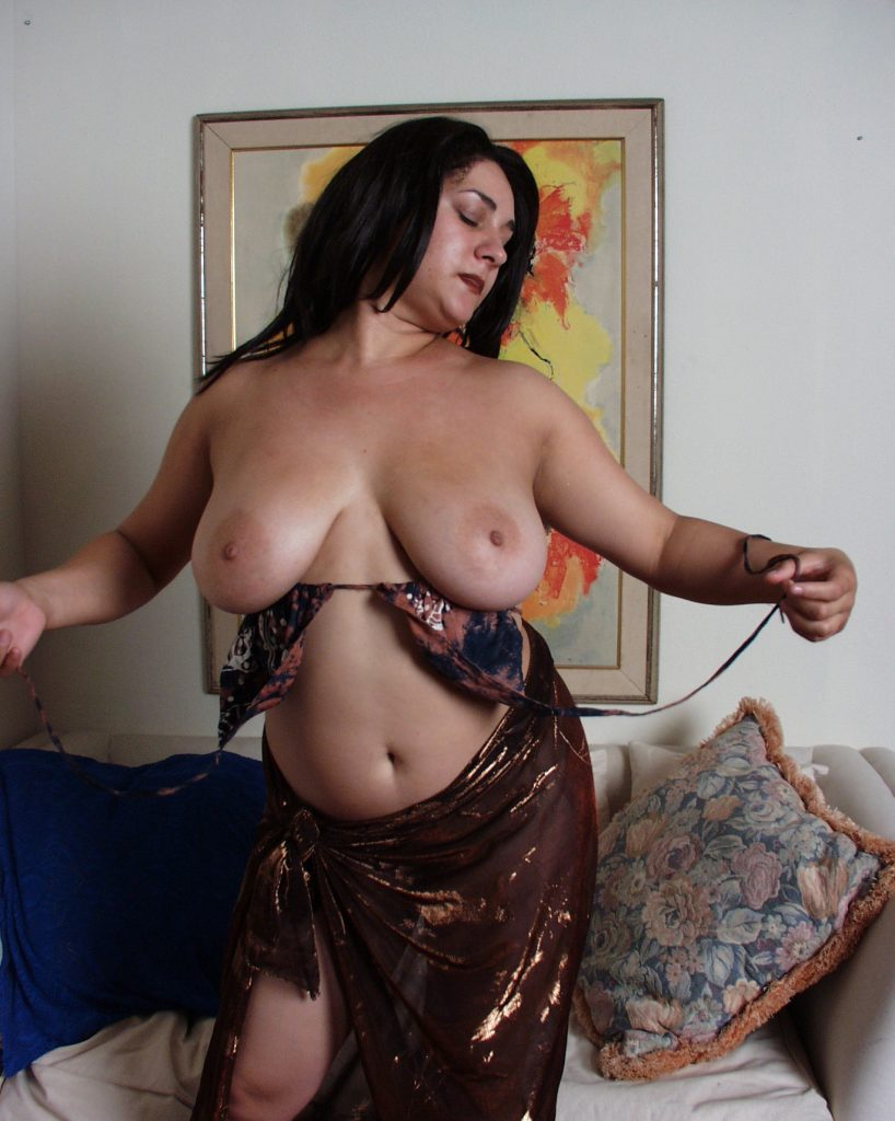 sexy naked BBW