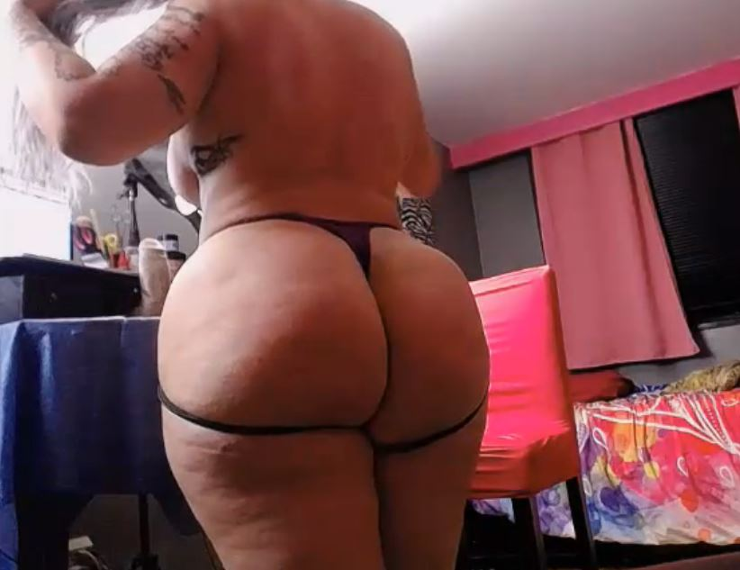 Big fat booty ready for anal